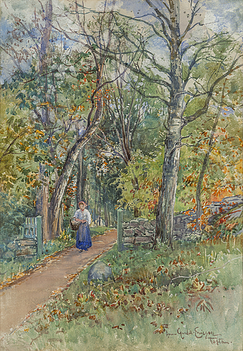 Anna gardell ericson, watercolour, signed