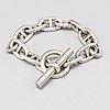 HermÈs, a silver bracelet.