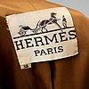 HermÈs, a cashmere coat, size 38.