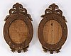 A pair of gustavian style wall sconces, second half of the 19th century