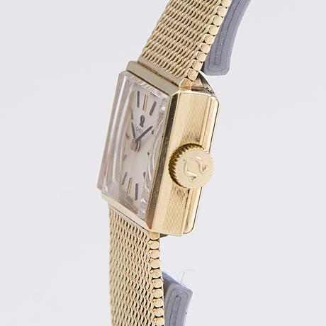 Omega, armbandsur, 14 k, 16 mm.