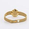 Tissot, saphir, damarmbandsur, guld 18k, c:a 20 mm