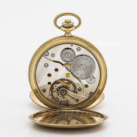 Helvetia, pocketwatch, savonette, c:a 50 mm.