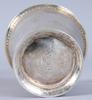 Parti bÄgare, 8 st, silver, bl a 1771, otydliga mästarstämplar. 303 gram.