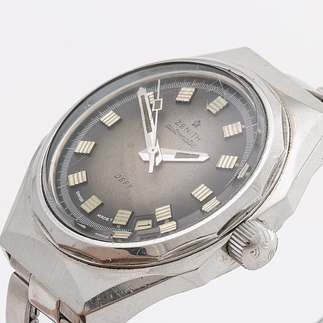 Zenith, defy, wrist watch, 37 mm