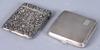 Dosor, 2 st, silver, england. 168 gram.