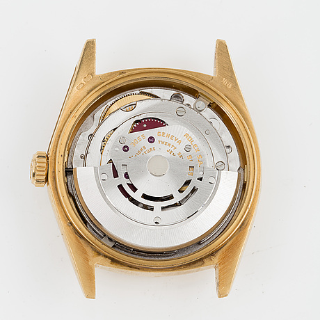 """Rolex, day-date, """"wood dial""""."""