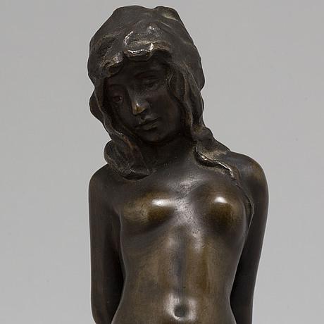 Vicken von post-bÖrjesson, sculpture, bronze. signed and with foundrymark.