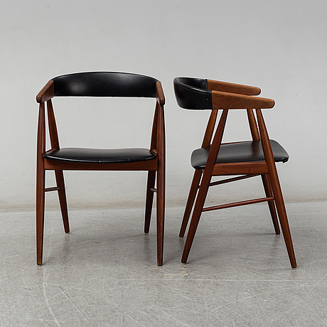 Five 1960s armchairs, denmark