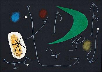 """661. Joan Miró, From: """"Le Lézard aux plumes d'or""""."""