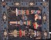 Matta, kina. 1900-tal. 170 x 240.