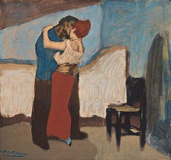 "669. Pablo Picasso After, ""L'Etreinte""."