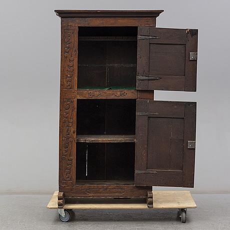 A renaissance style cupboard, ca 1900
