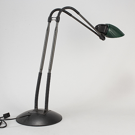 Arteluce, a desk lamp table 'tang', designed by stephan copeland, 1980s.
