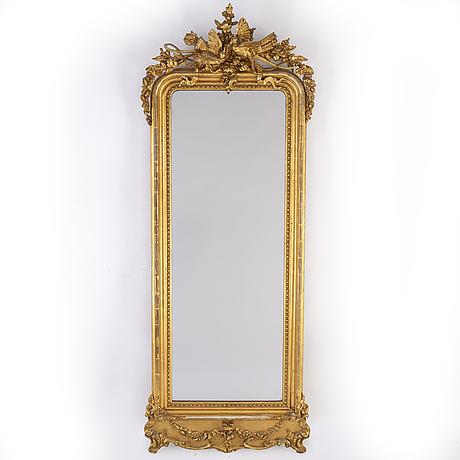 A late 19th century mirror