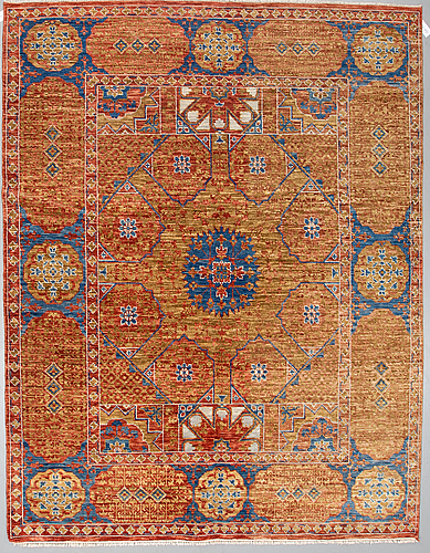 A carpet, oriental, around 300 x 250 cm