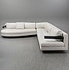 Antonio citterio, three sofas, from b&b italia, second half of the 20th century