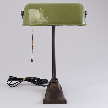 A 1930's german'1285' table lamp for schaco.