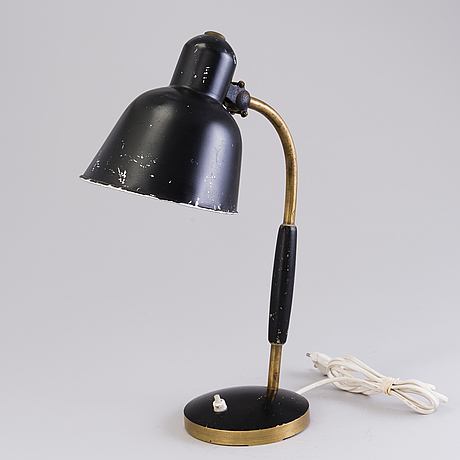 A 1930's derman 'tp5' table lamp aeg.