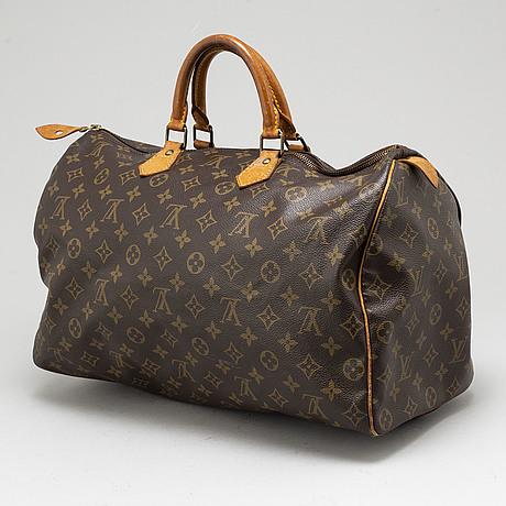 Louis vuitton, a monogram canvas 'speedy 40' bag