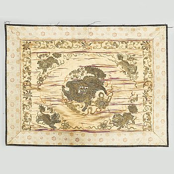 A textile, Qing dynasty, 19th century.