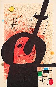 """662. Joan Miró, """"Le penseur puissant""""."""