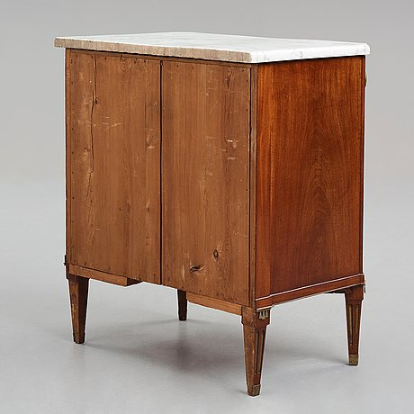 A late gustavian commode by anders scherling 1785 (master in stockholm 1771-1809).