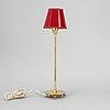 Josef frank, a brass table lamp, modell 2552, for svenskt tenn, sweden.