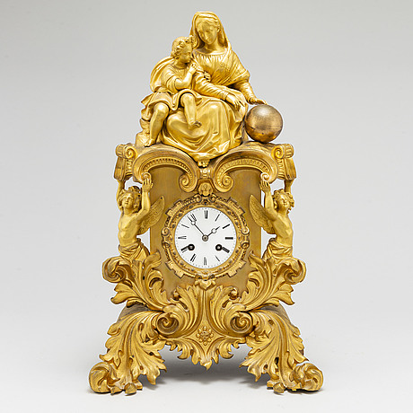 Pendulum clock, probably france. second half of the 19th century