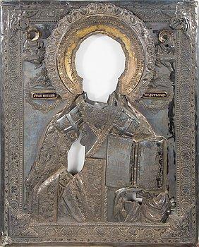 RIISA, hopeaa, Moskova 1837, Venäjä.