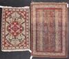 Mattor, 2 st, orientaliska, ca 150x100 resp 120x80.