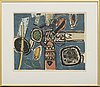 Beverloo corneille, 2 colour lithographes, signed and dated 61 and 63, numbered 115/120 and 55/75.