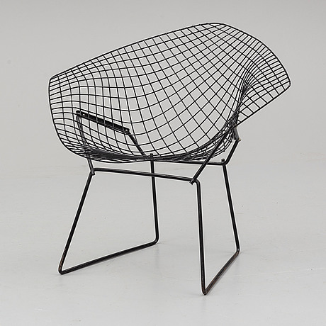 Harry bertoia, diamond chair. model designed in 1952.