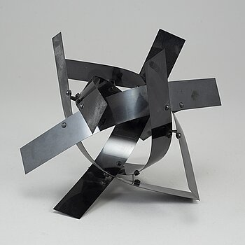 LARS ENGLUND, a metal sculpture, signed and dated 1993.