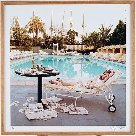 "Terry o'neill, ""faye dunaway, hollywood, 1977""."