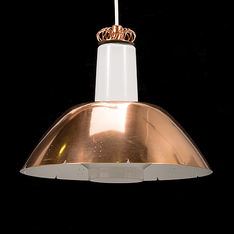 Paavo tynell, a mid 20th century 'k2 20' pendant light by idman