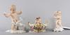 Figuriner och skÅl, porslin. von schierholz mm.