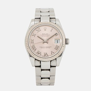 ROLEX, Oyster Perpetual, Datejust, Chronometer, wistwatch, 31 mm.