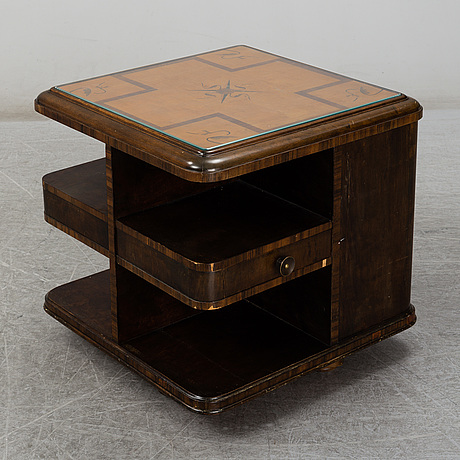 An inlay drinks table, 1930's