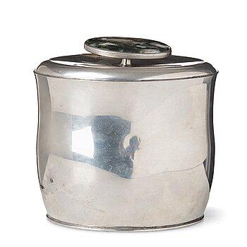 269. Firma Svenskt Tenn, a pewter lidded jar, Svenskt Tenn, Sweden 1956.