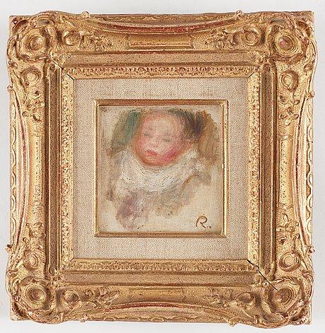 Pierre-auguste renoir, le portrait d'enfant.