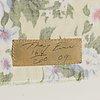 Tracey emin, serigrafi tryckt på tyg med broderi, 2009, signerad och numrerad 164/200.