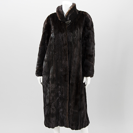 A finnish saga mink fur coat.