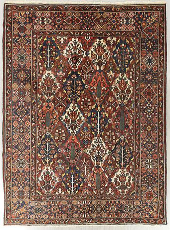 A semiantique bachtiari carpet ca 330 x 280 cm