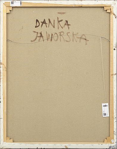 Danka jaworska,  mixed media signed