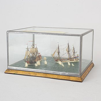 Ship models, first half of the 20th Century.