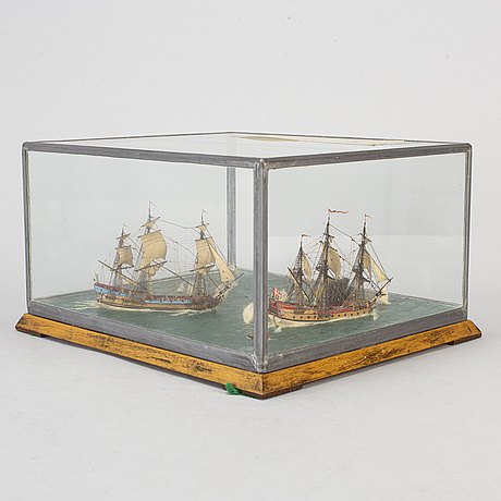 Ship models, first half of the 20th century