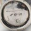 A swedish18th century parcel-gilt silver breaker, mark of johan möllerström, stockholm 1725.