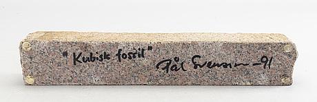 PÅl svensson, skulptur signerad och daterad 91.