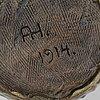 Albin hamberg, a ceramic bowl for höganäs 1914
